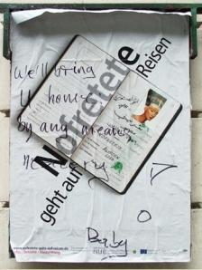 Affiche de la campagne allemande de restitution de Nefertiti