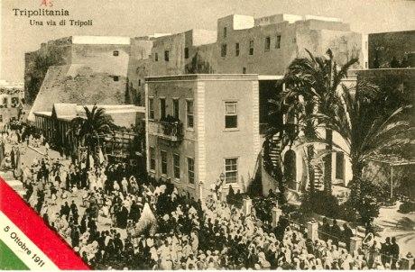 Tripolitania, un via de Tripoli